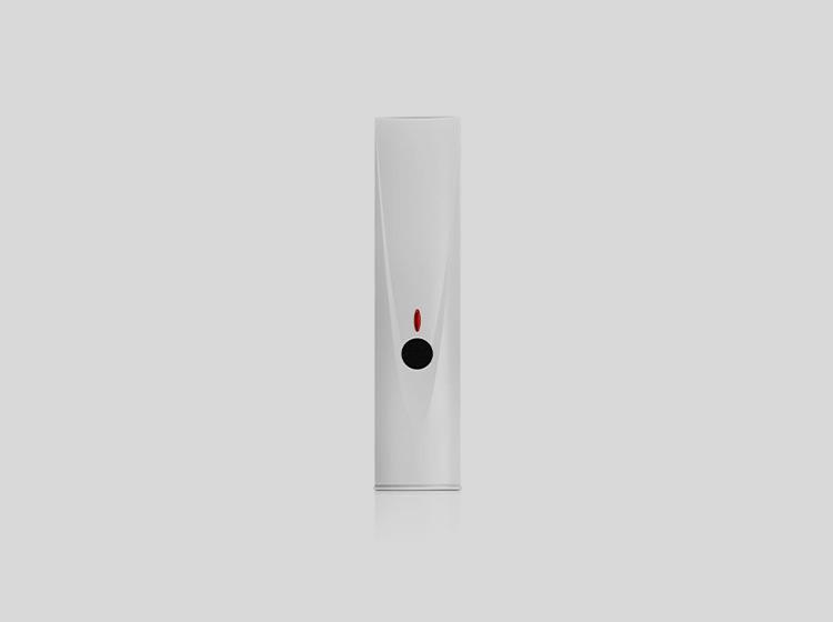 System alarmowy z czujnikiem zbicia szyby